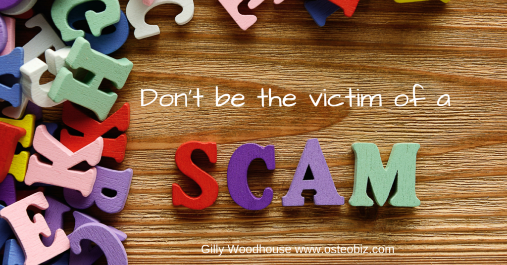 Scams R Us – will you fall for them?
