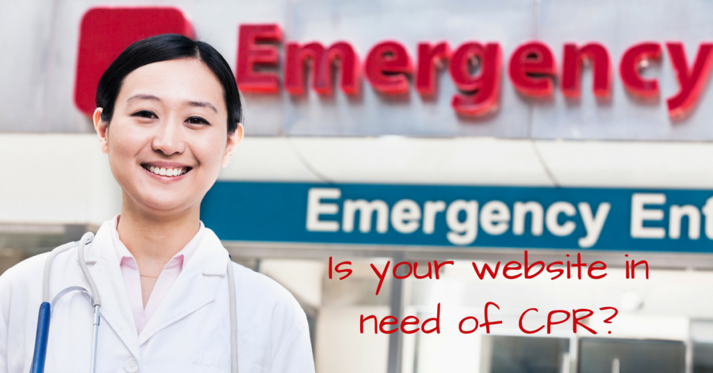 Does your website need CPR?