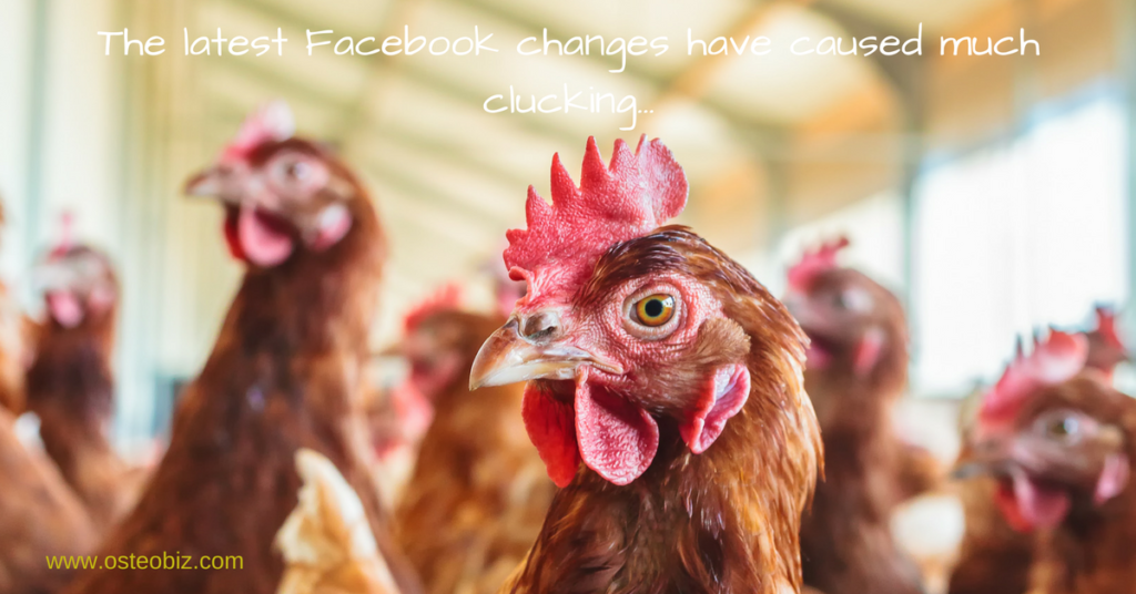 latest facebook changes