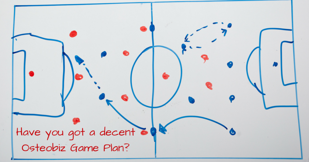 What's your Osteobiz Game Plan?